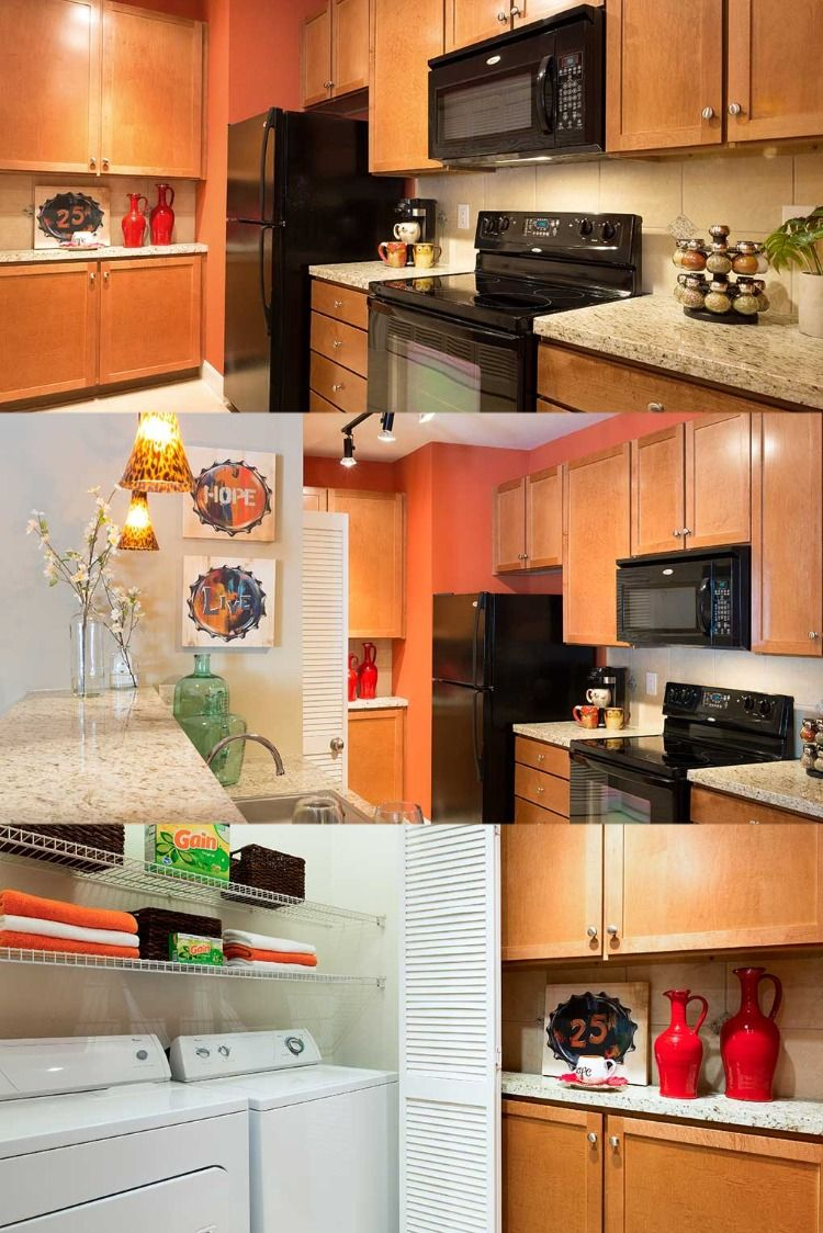 Our Houston apartments are complete with highend finishes