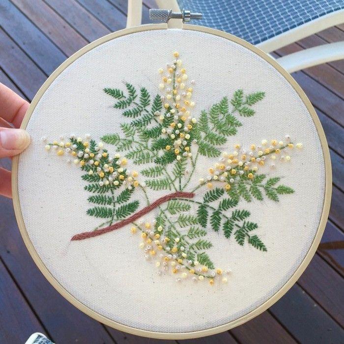 15+ handgemachte einzigartige Stickerei-Muster-Ideen   Wreaths all ...