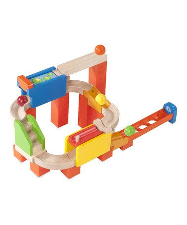 Take A Look At This Two Way Flipper Wooden Ball Run Set By Wonderworld On Zulily Today Unique Kids Toys Toy Train Kids Toys