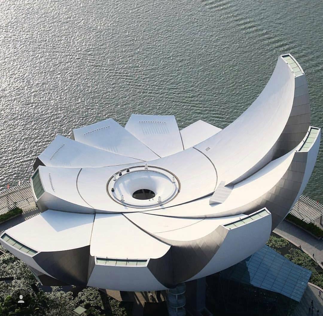 "Amazing Architecture Magazine: ""World's First ArtScience Museum Designed By Moshe Safdie"