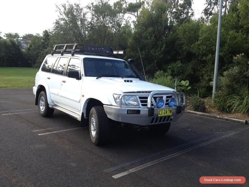 2004 NISSAN PATROL WAGON nissan patrol forsale australia