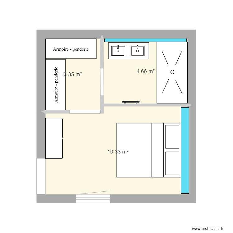 Epingle Par Serge Paul Sur Plans Chambre Parentale Plan Suite