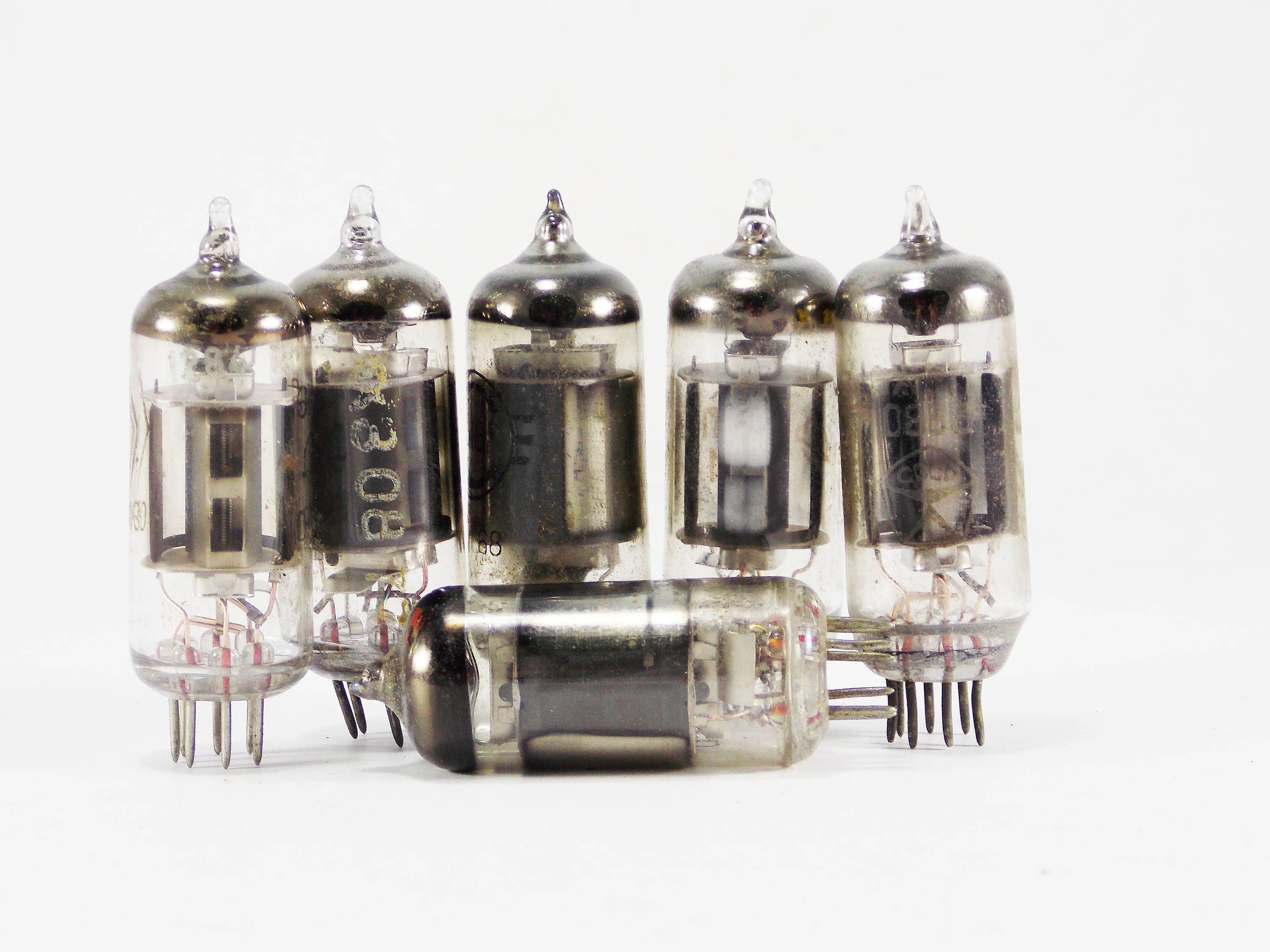 Electron tube vacuum tubes steampunk supplies assemblage Jewelry ...