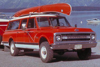 1968 Chevy Suburban Chevy Suburban Chevrolet Suburban Suburban