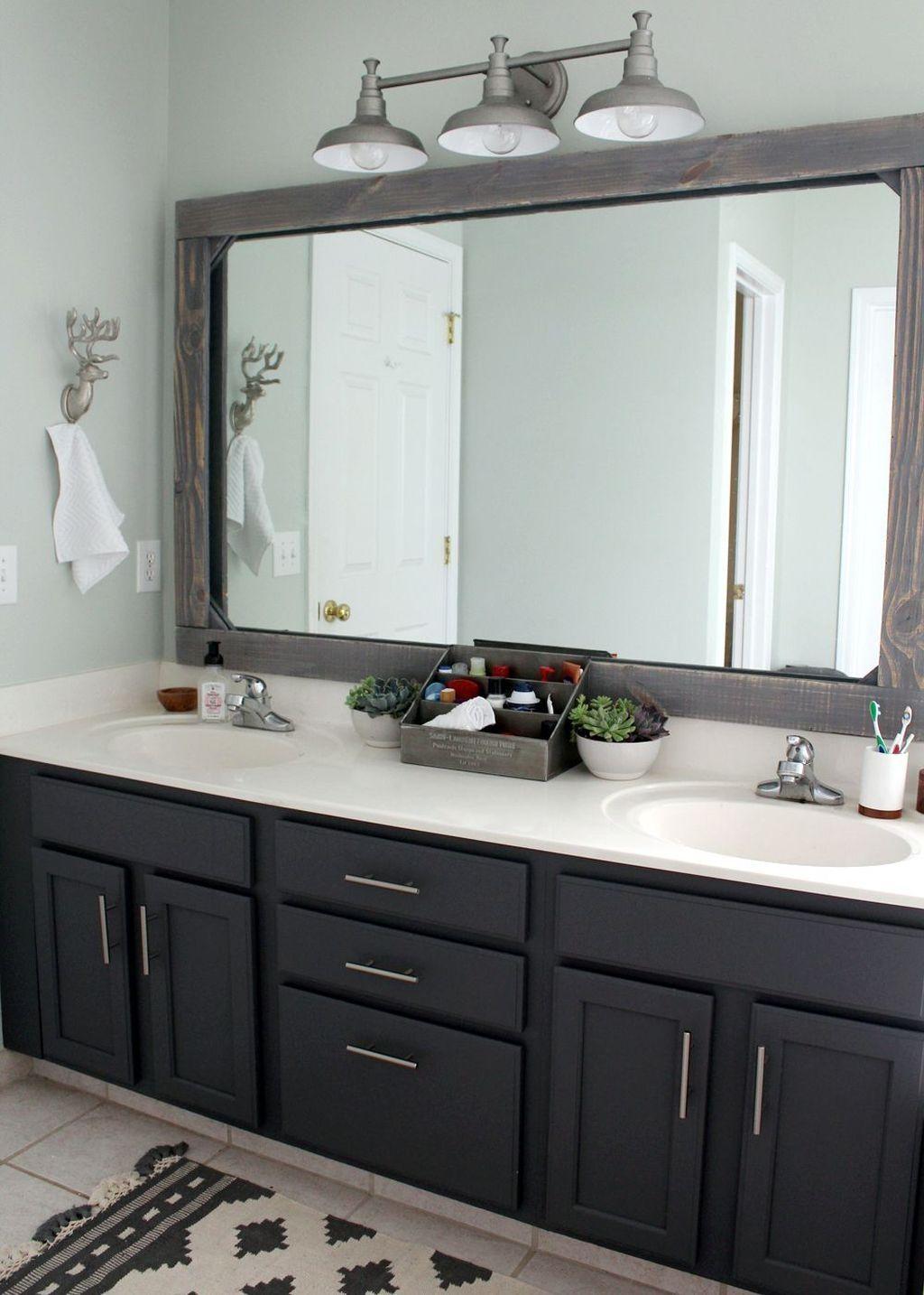 48 Simple Master Bathroom Renovation Ideas   Møbel ...