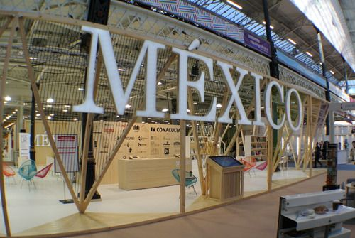 Trade Stands Olympia : Awarded exhibition stand at the london book fair by escato stands
