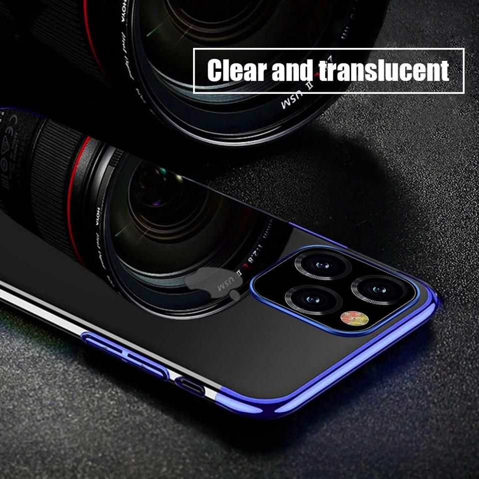 Laser plating luxury tpu for iphone 11 61inch iphone 11