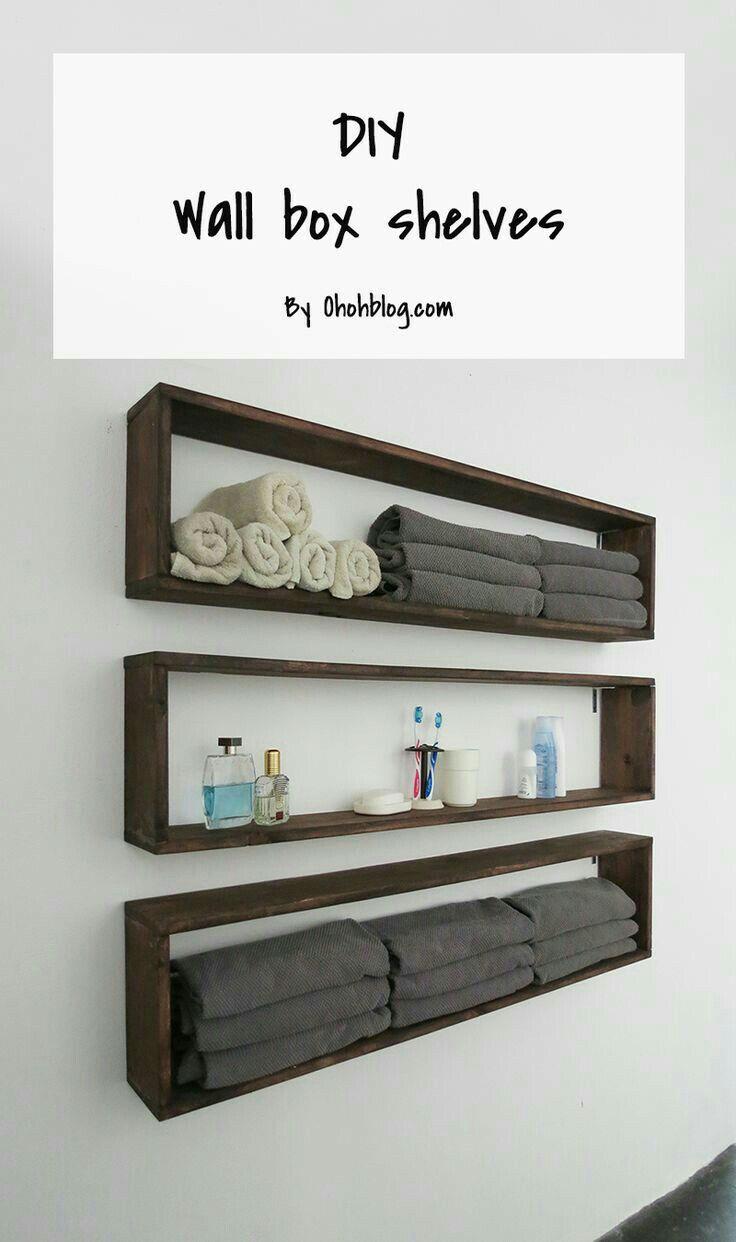 Idea By Haniya Malik On Home Decoration Ideas Diy Wall Shelves Diy Furniture Home Diy