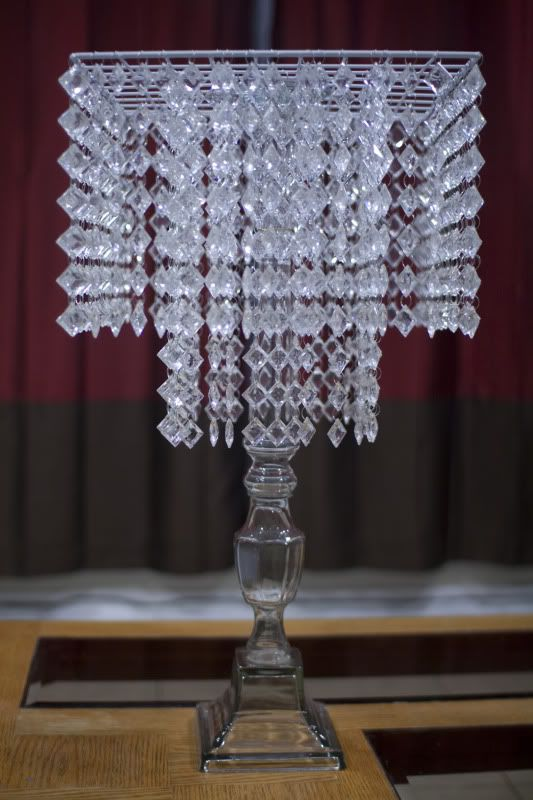 My Diy Chandelier Centerpiece Planning Project Wedding Forums