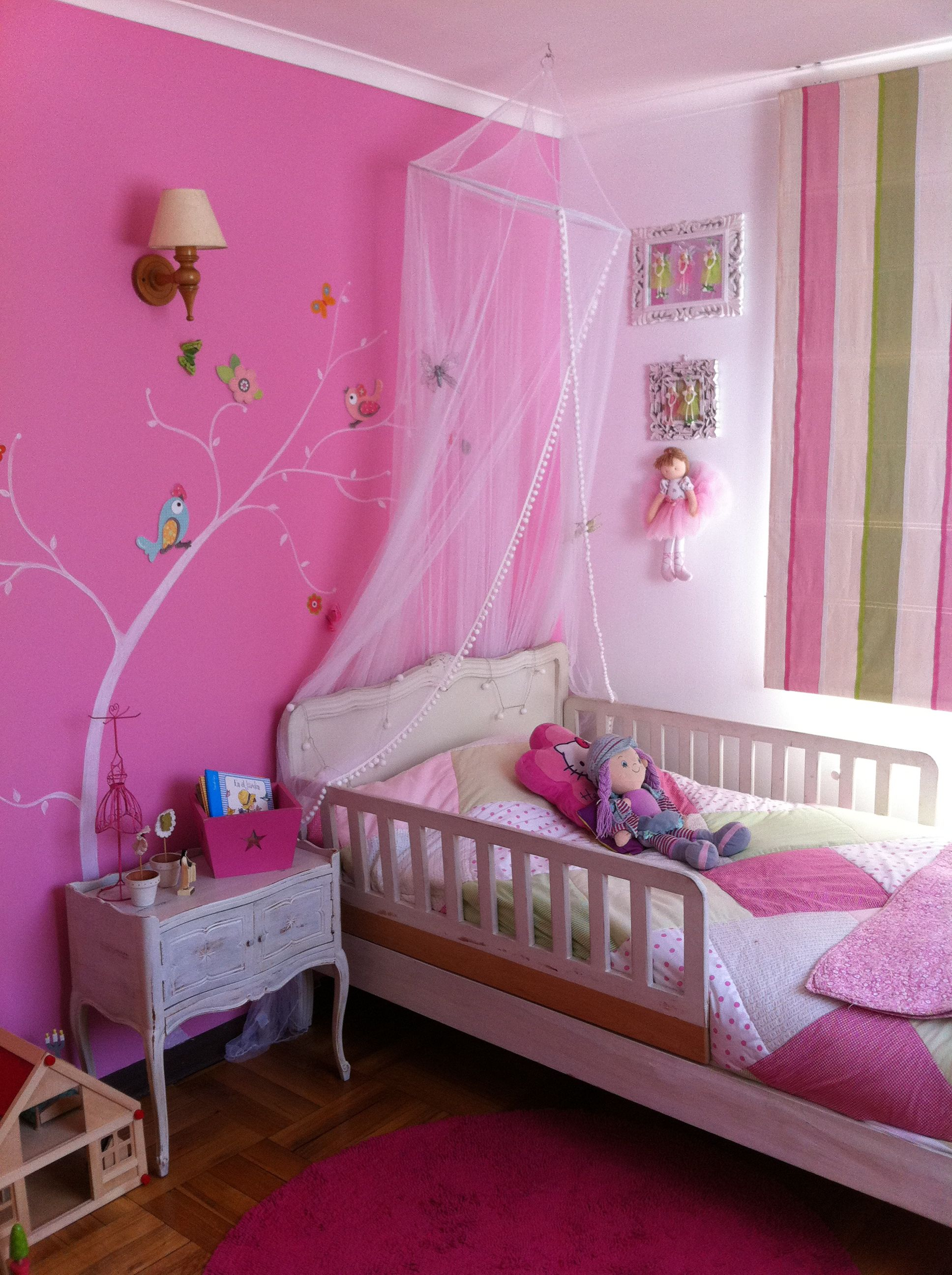 Dormitorio ni as para beb pinterest dormitorios - Dormitorios bebe nina ...