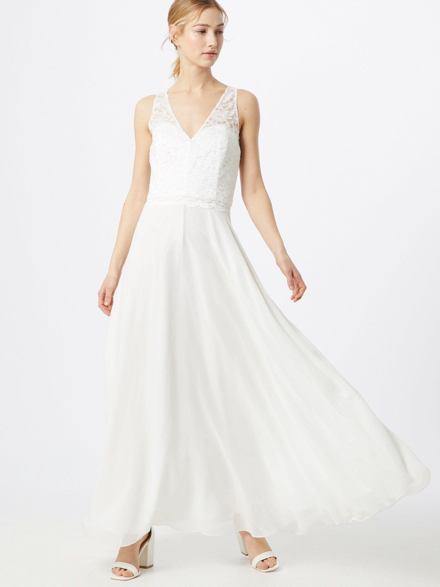 SWING Kleid Damen, Weiß / Creme, Größe 13 in 13  Kleider