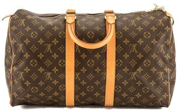 Louis Vuitton Monogram Canvas Keepall 45 Boston Bag (Pre Owned ... 4163c3ea52db3