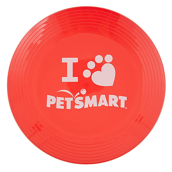 Top Paw I Love Petsmart Flyer Dog Toy Dog Toys Petsmart Dog Activities