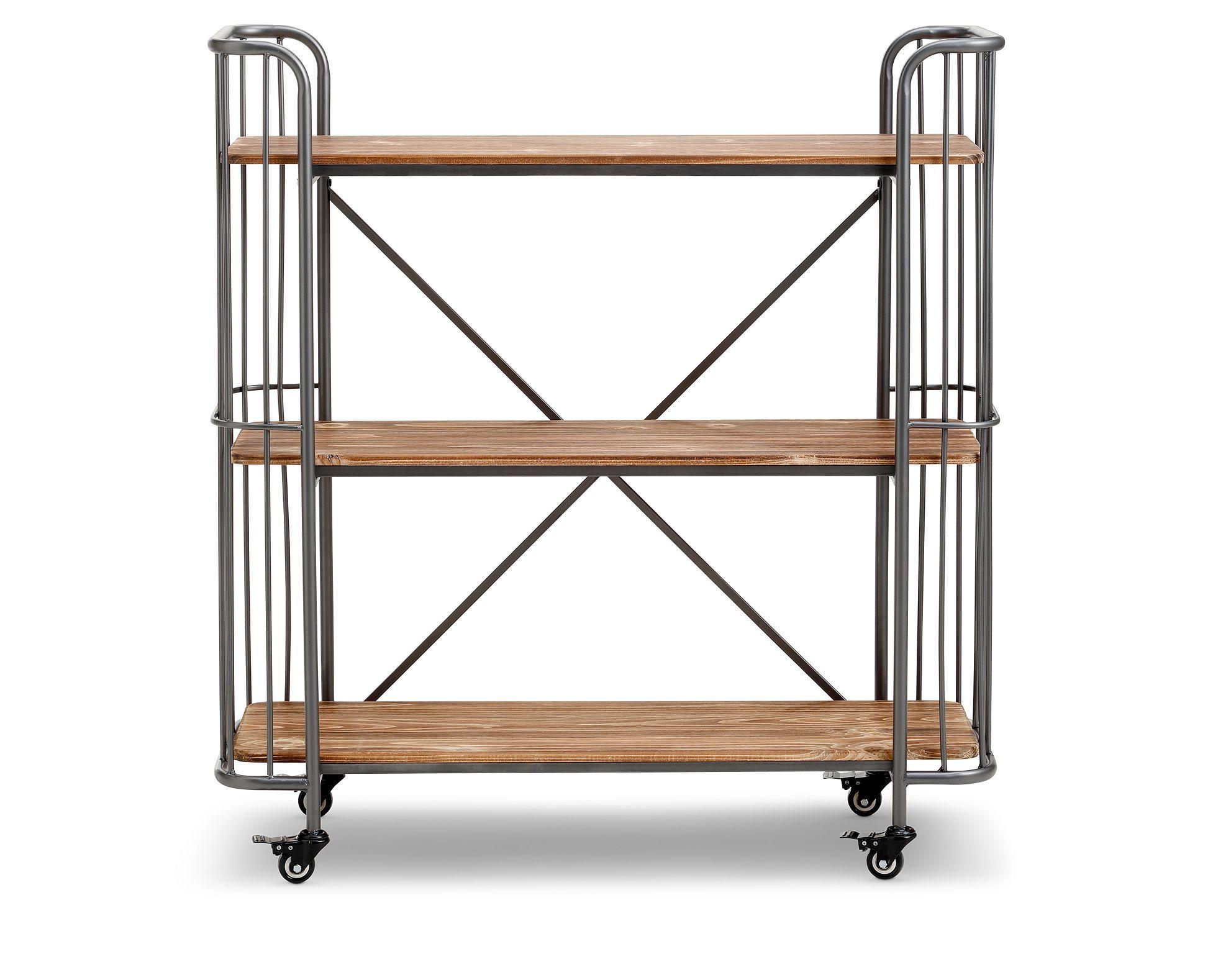 Benji 3 Tier Shelf Industrial Interiors Furniture Decor