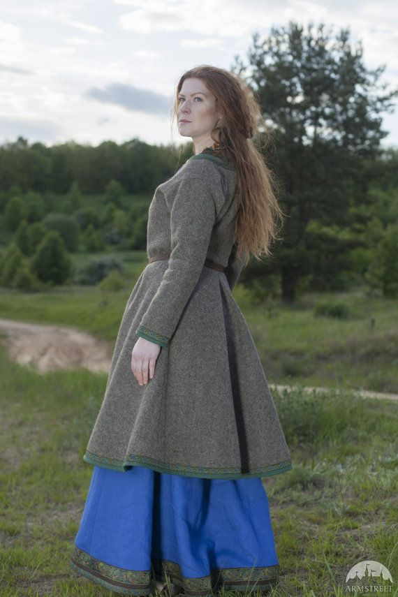 Las Mujeres Ideas Ingrid Kaftan Vikingo Outfit Venta Capa pwdSpq