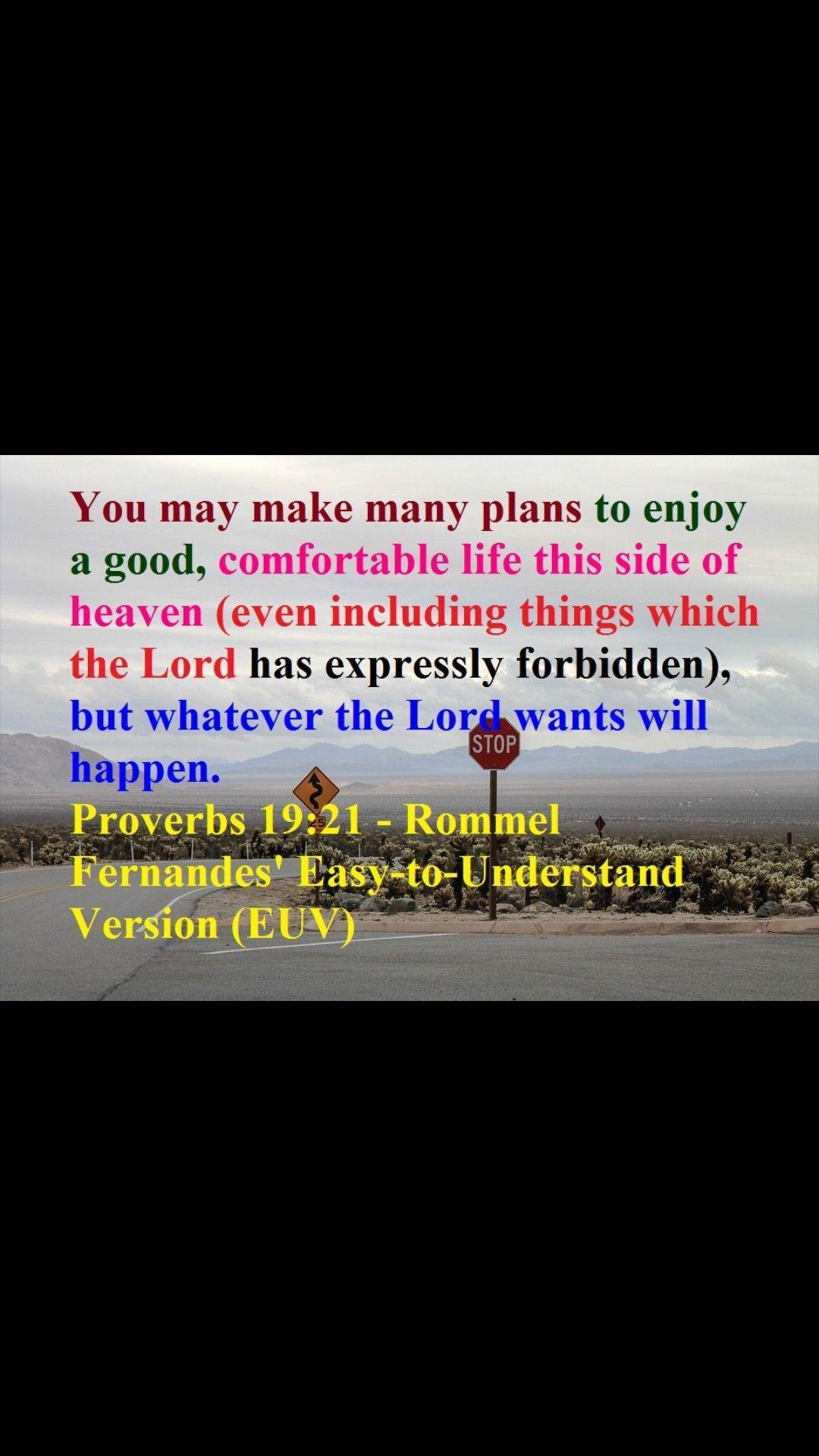 Proverb 19 21 Bible Knowledge Paraphrase Prov 14