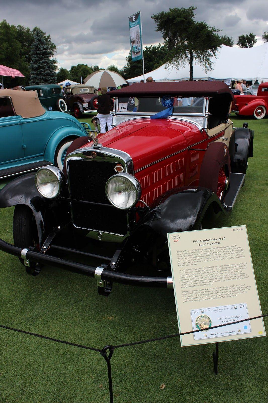 1928 Gardner Model 28 Sport Roadster Maintenance/restoration of old ...