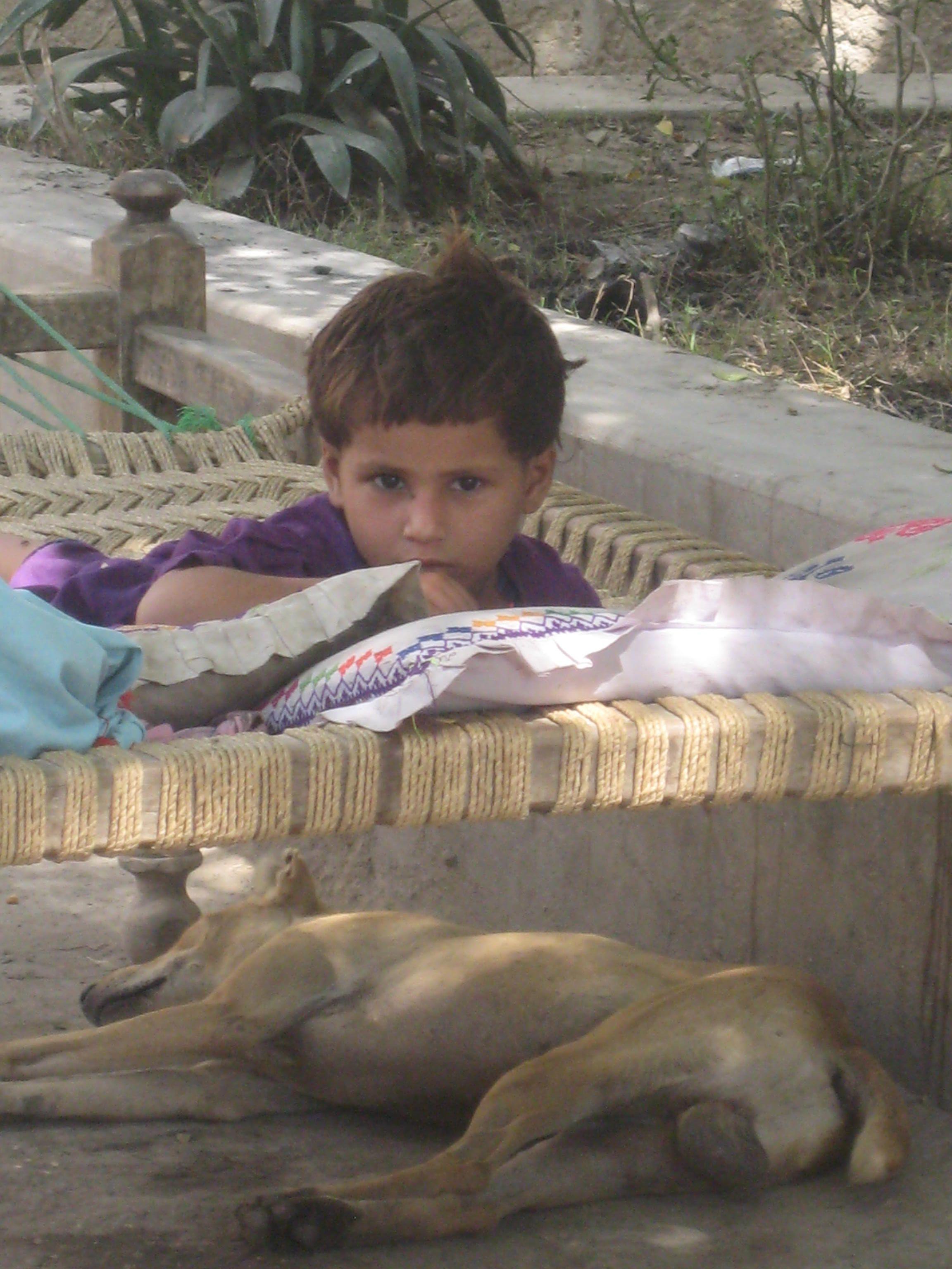 Pakistan Flood Relief 2010 Sevimli çocuklar