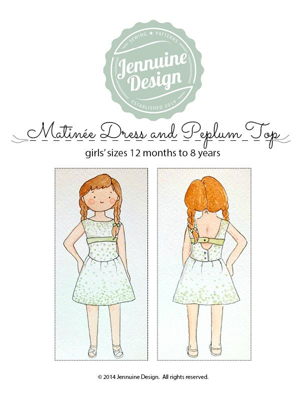 Matinée Dress and Peplum Top   CRAFTS clothes   Pinterest   Costura ...