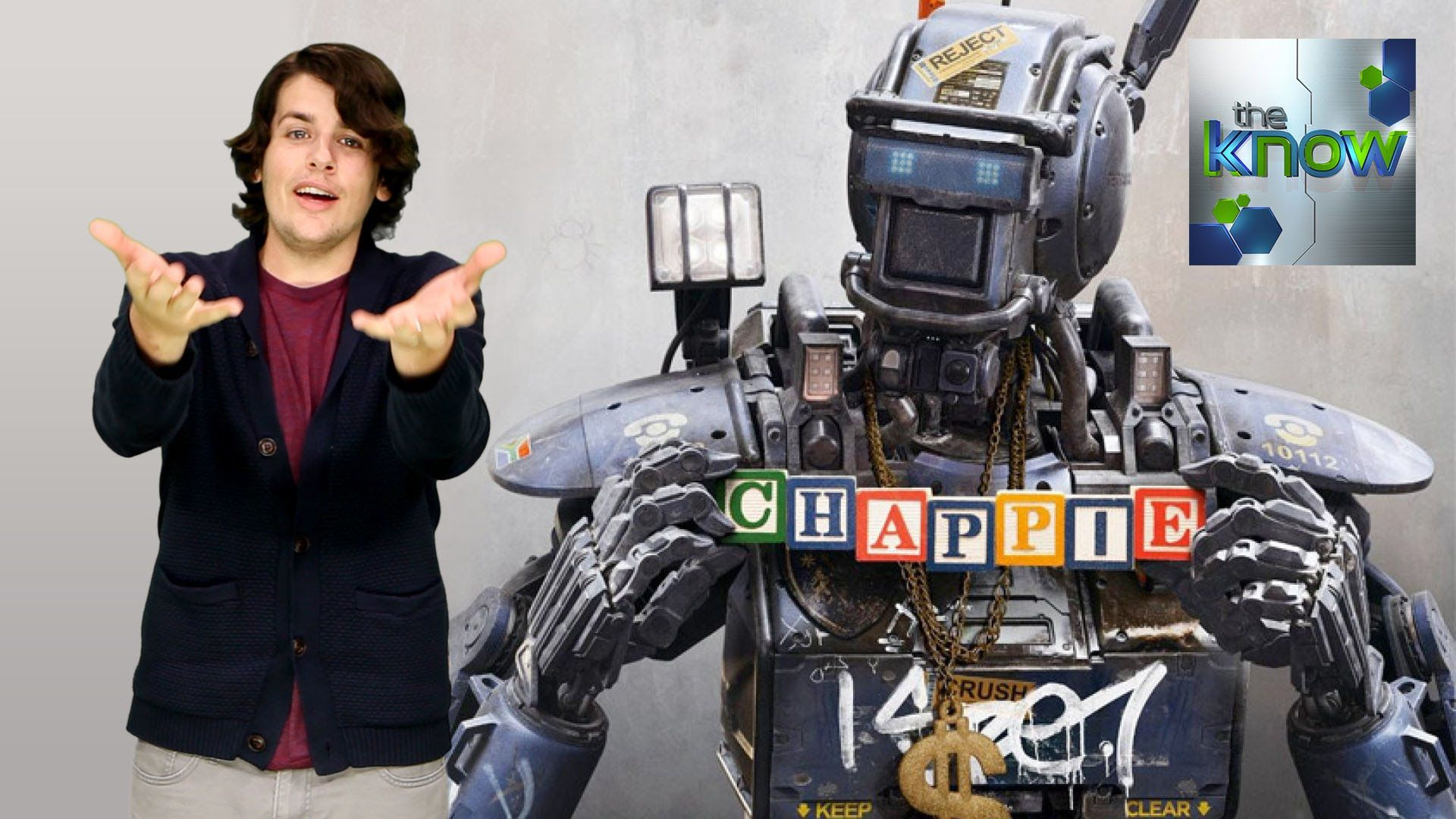 Your First Look At Chappie From District 9 Elysium Director The