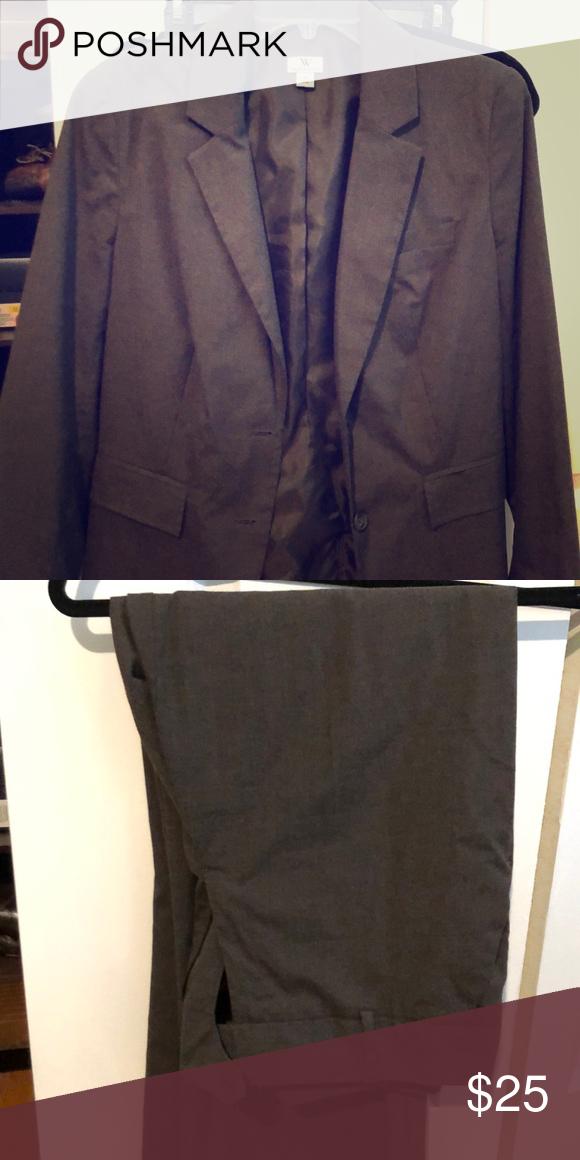 6a750d31b26 Worthington suit! dress jacket plus pants Blazer size 12 with size 10  matching pants Worthington Jackets   Coats Blazers