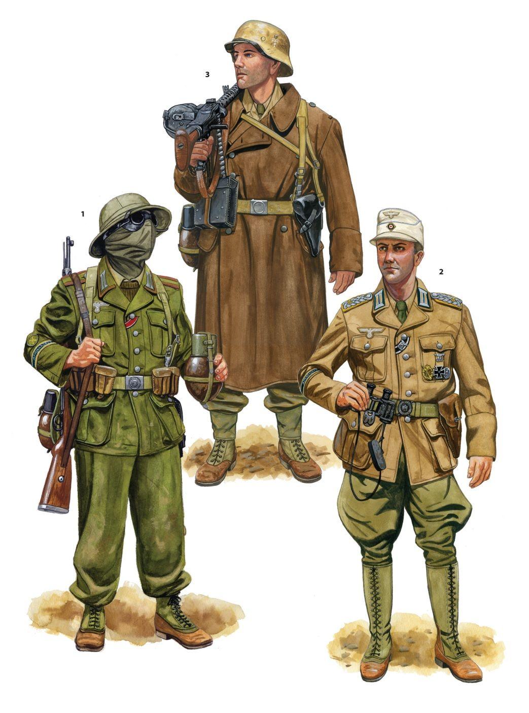 World War II German Motorized Infantry & Panzergrenadiers ...
