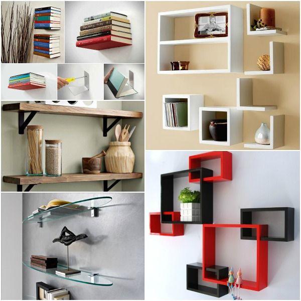 Resultado de imagen para repisas en madera repisas - Esquineros para pared ...