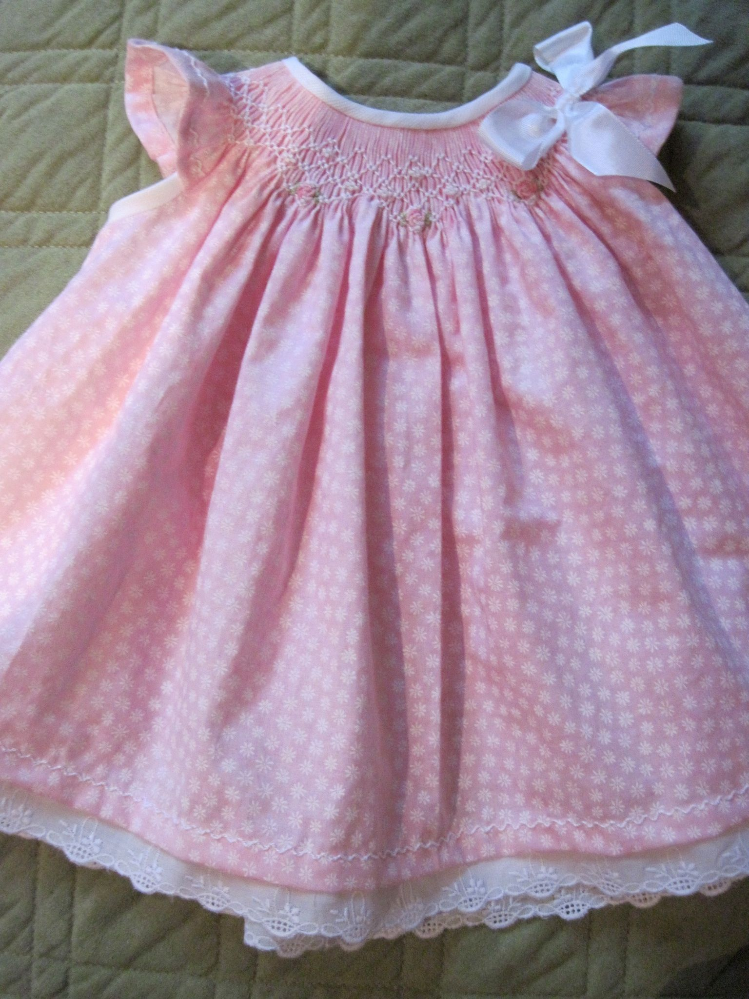 Hand Smocked By Marianela Collado Heirloom Sewing And