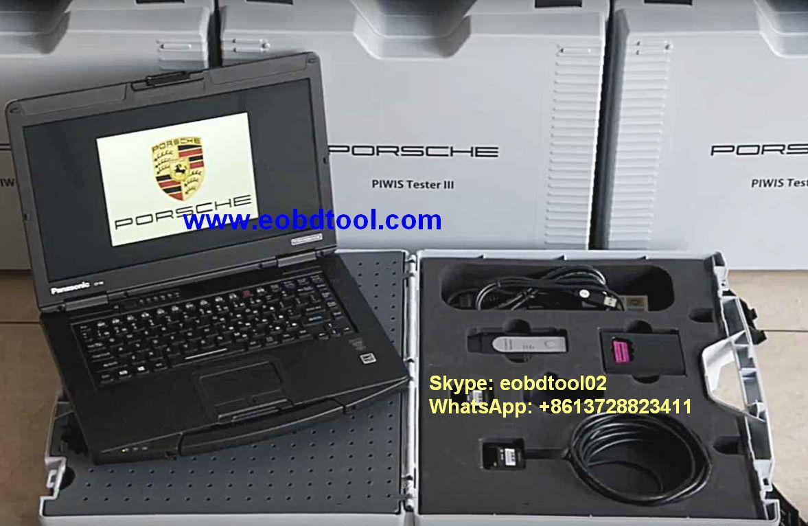 Piwis 3 Original Porsche Iii With Panasonic Cf 54 Full Set Vxdas Vsp200 Vehicle Super Probe Circuit Tester Kit Case And Skype Eobdtool02