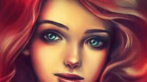 Ariel's eyes