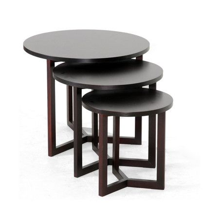 3 Piece Hess Nesting Table Set Living Room Side Table Nesting