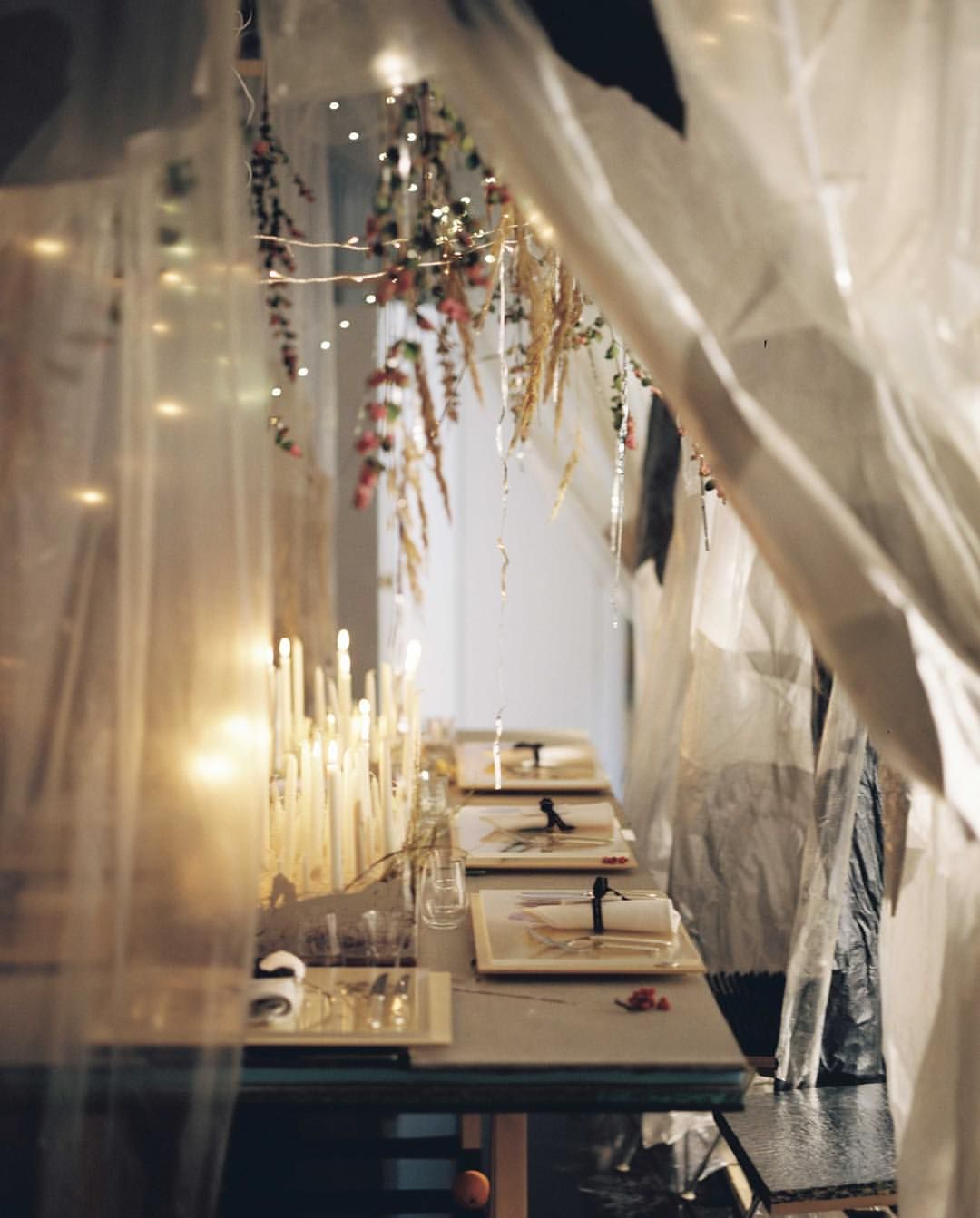 Our Stockholm Atelier turned into a celebratory silver world, ready to greet a few very special guests to dinner.. #andotherstories