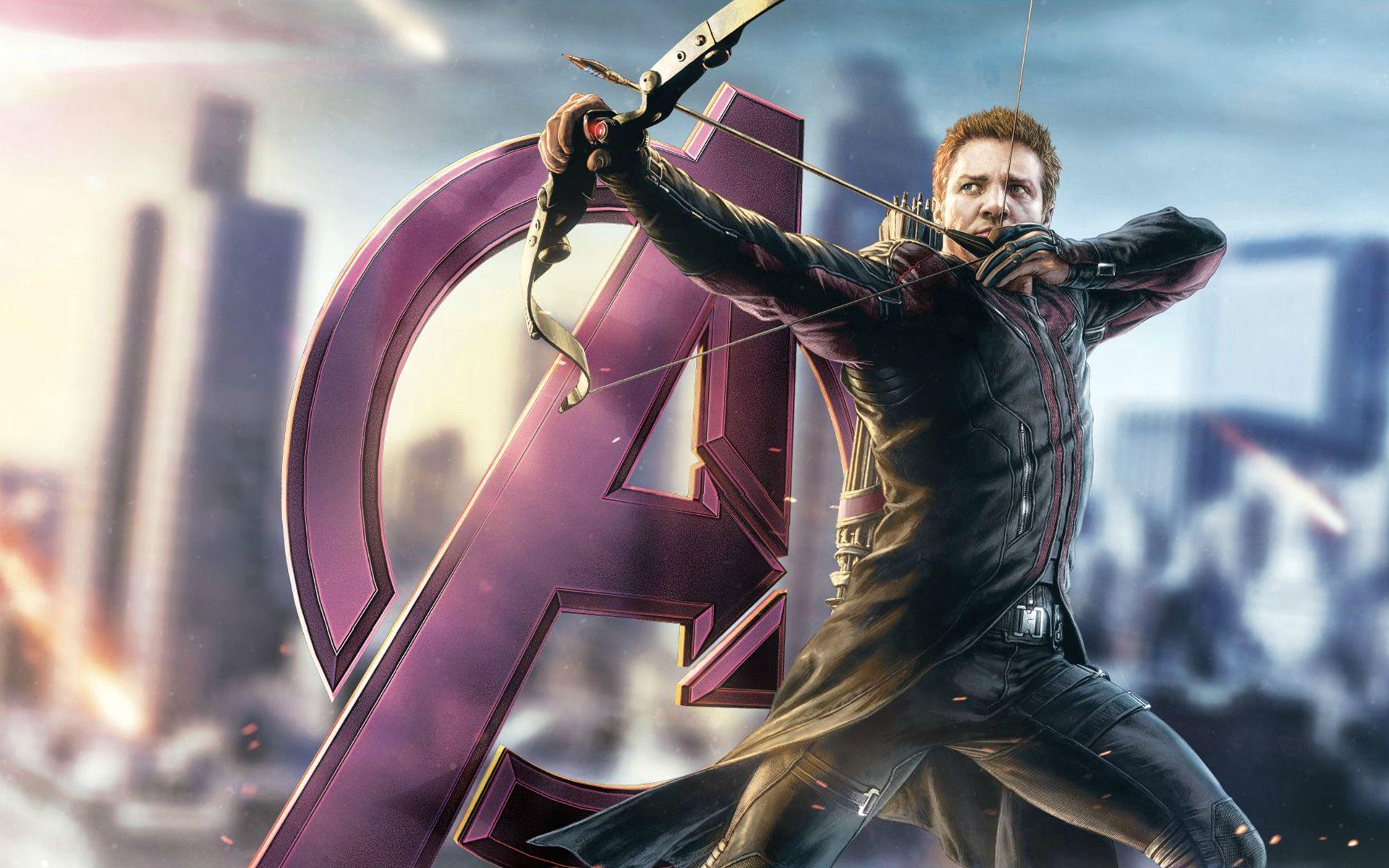 Avengers Pinterest: Films Avengers Jeremy Renner Œil-de-Faucon Fond D'écran