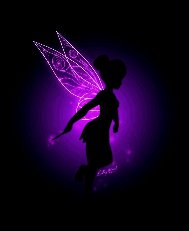 Purple Tinkerbell Disney Wallpaper Cute Disney Wallpaper Tinkerbell Wallpaper