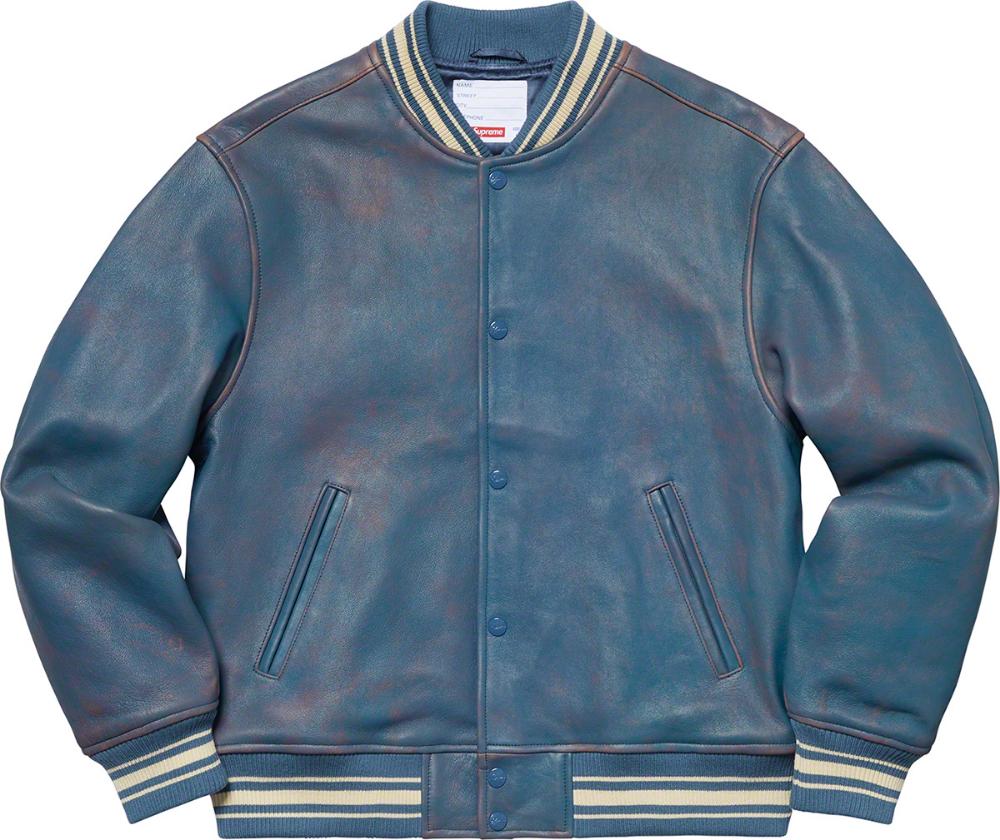 supreme vanson moto jacket back Google Search Leather
