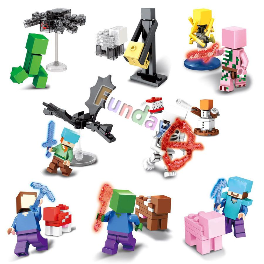 Model Building Loyal My World Classic Game Building Block Bricks Diy Toys Legoinglys Minecrafted Fairy Tale Castle Enlighten Gift Compatible With
