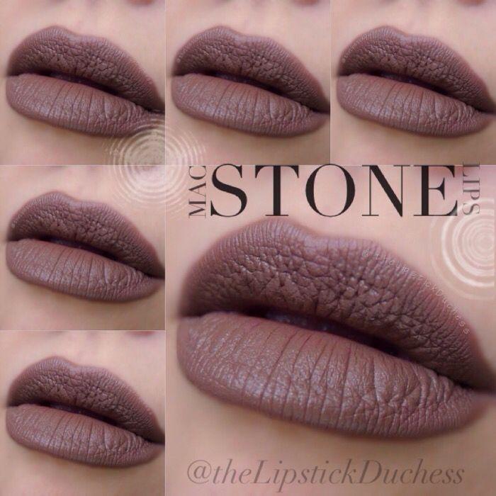 mac stone lipstick make up pinterest kosmetik. Black Bedroom Furniture Sets. Home Design Ideas
