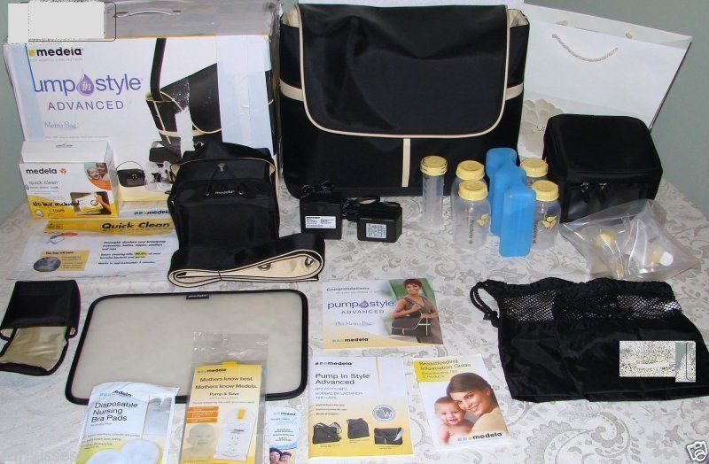 Mint Medela Pump In Style Advanced Metro Bag Tpump New Sealed Accessories