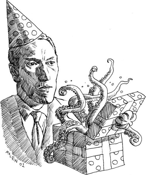 Happy Birthday to Howard Phillips Lovecraft, born on August 20th 1890!