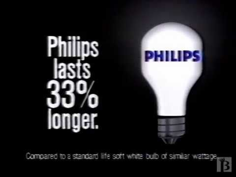 Funny Philips Light Bulbs Commercial 1988 Philips Light Bulbs Philips Commercial