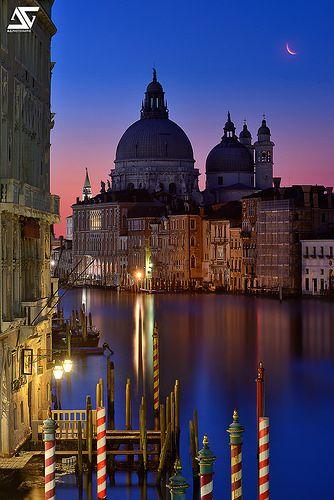 Santa Maria della Salute at sunrise