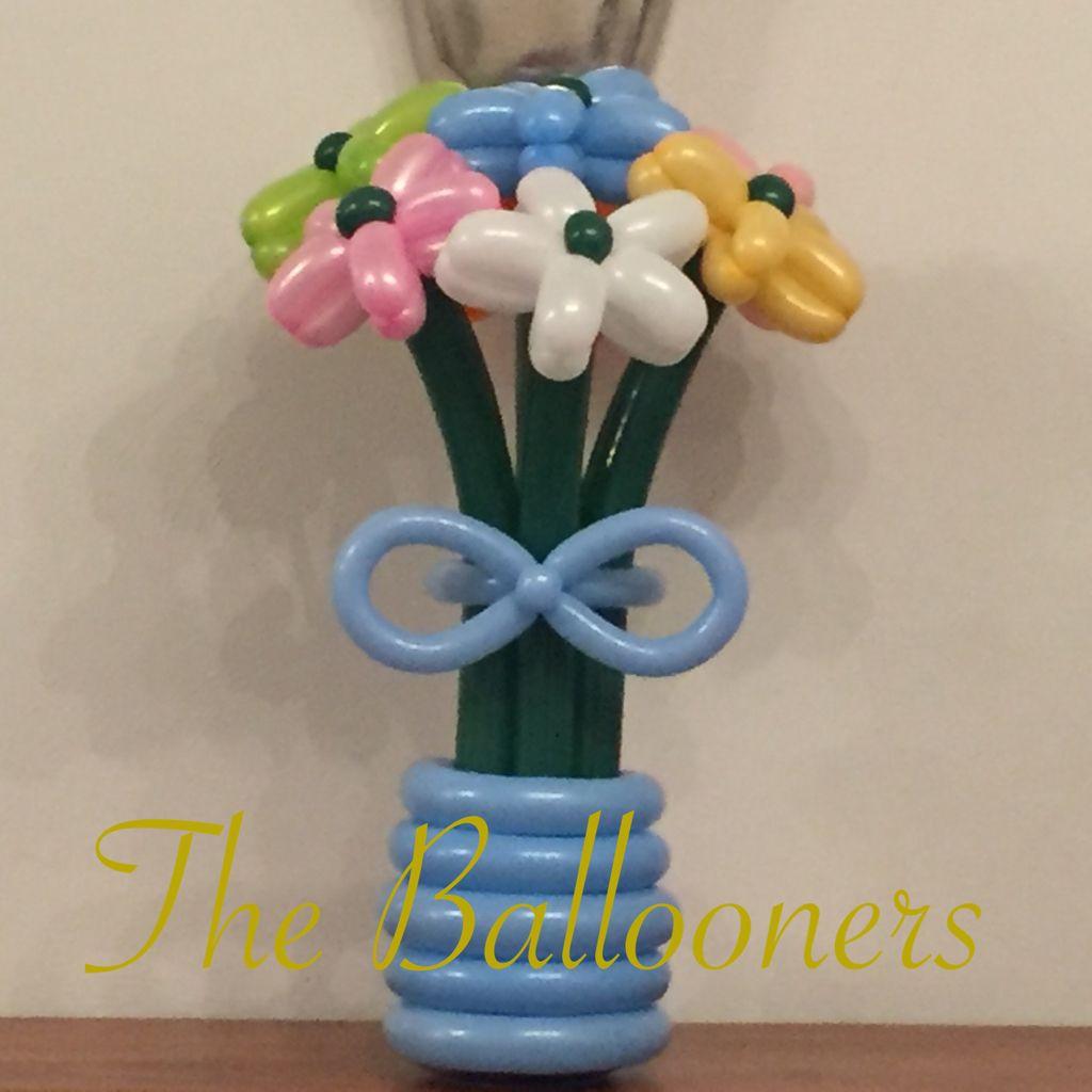 Balloon Flower Bouquet. Baby blue | 花 | Pinterest | Balloon flowers