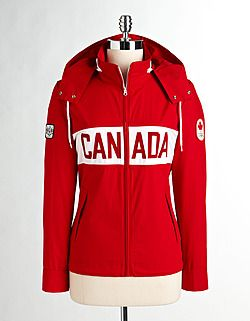 Canadian Olympic jacket. The Bay. I LOVE IT!!!