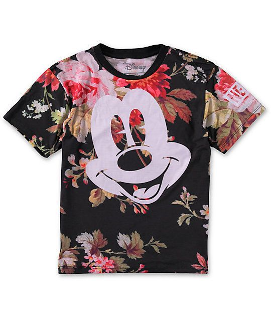 d7a8e340 An unmistakably iconic look with a Mickey Mouse face graphic at the chest  and