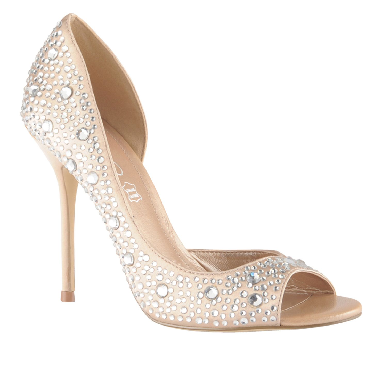 63af417d Beautiful! Makes me want to get married again! ALDO women's peep-toe pumps  #Bergold #wedding #inspiration