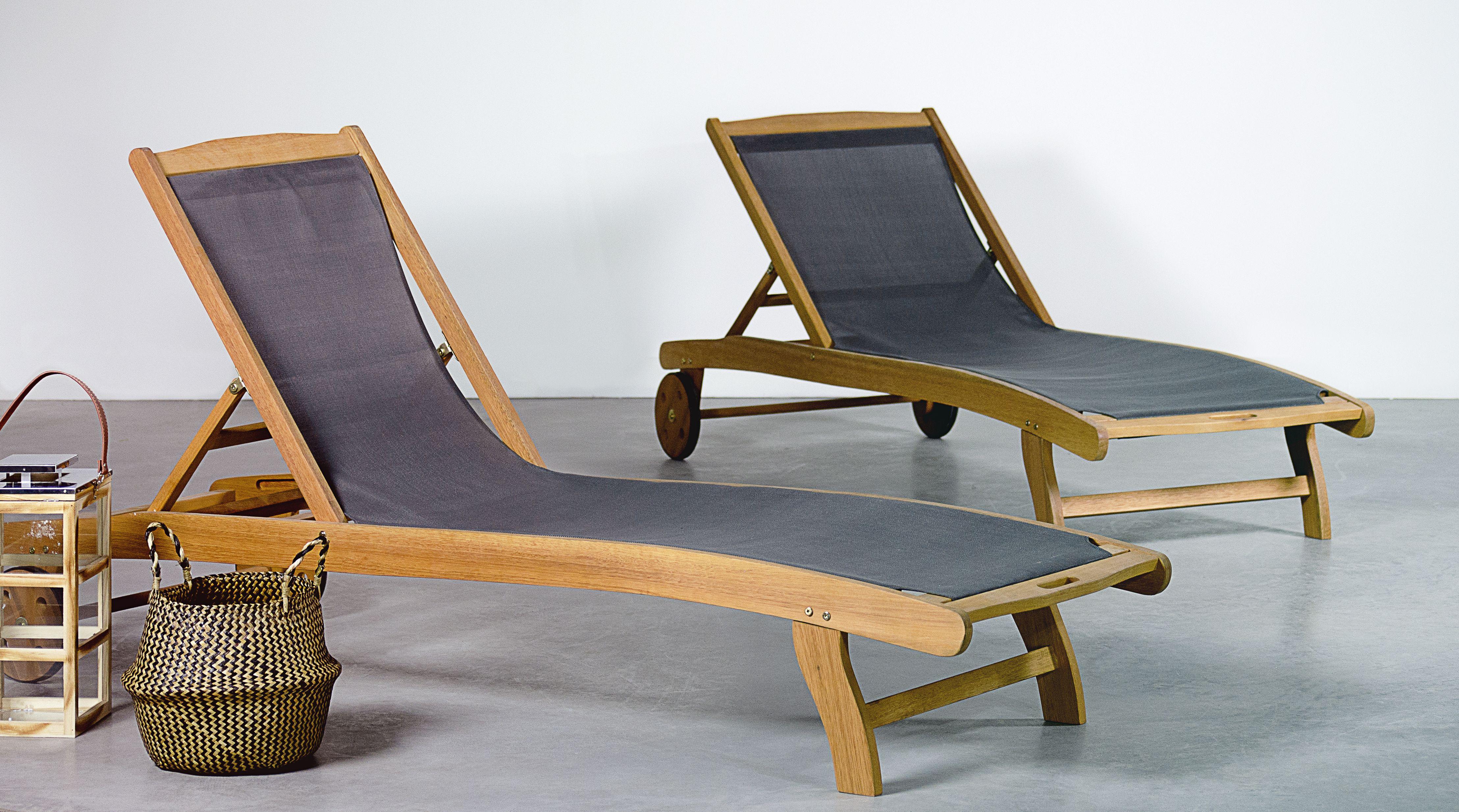 De Eucalyptus Textilène Soleil Et MarbellaLot Bains 2 En Fsc Kl1JcF