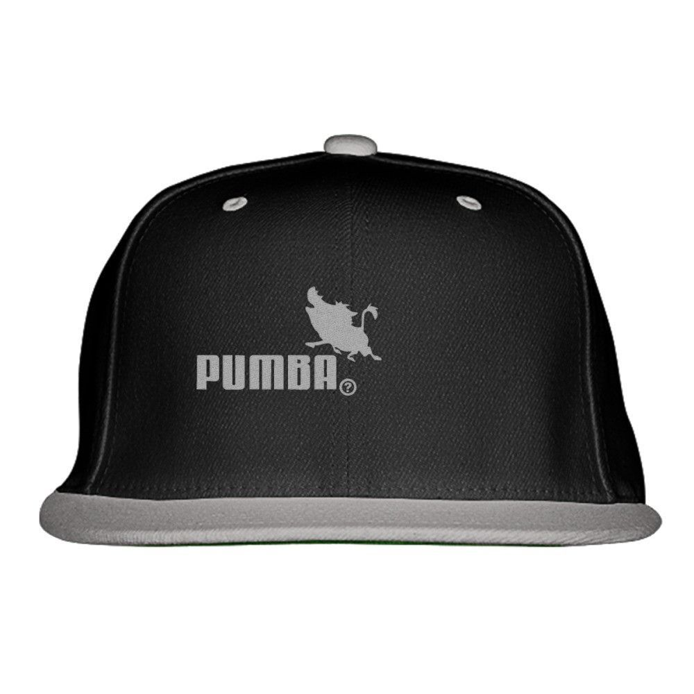 Pumba Embroidered Snapback Hat