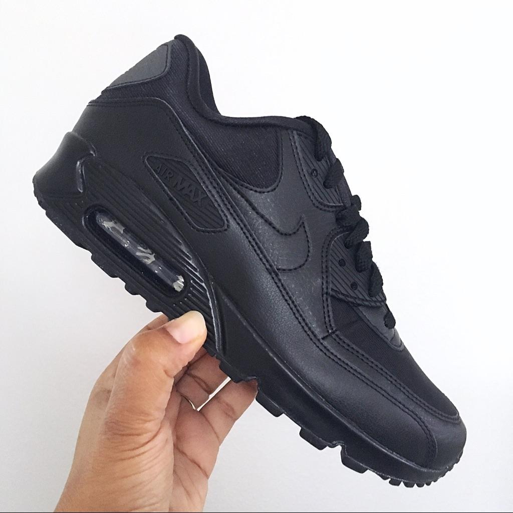Nike Shoes | Black Nike Air Max 90 Running Shoes Women Size