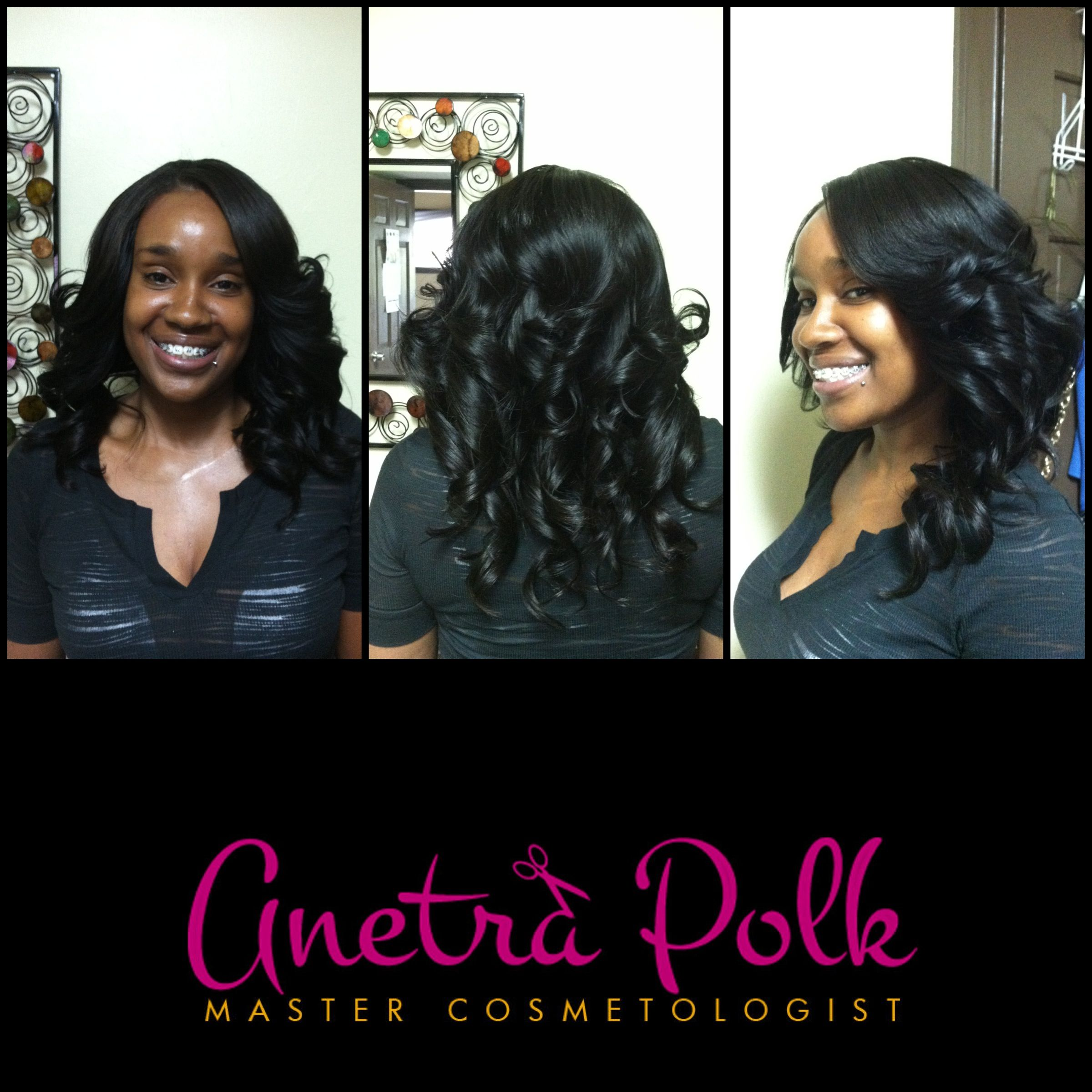 "full sew-in using 12"",14"" and 16"" of brazilian body wave by"