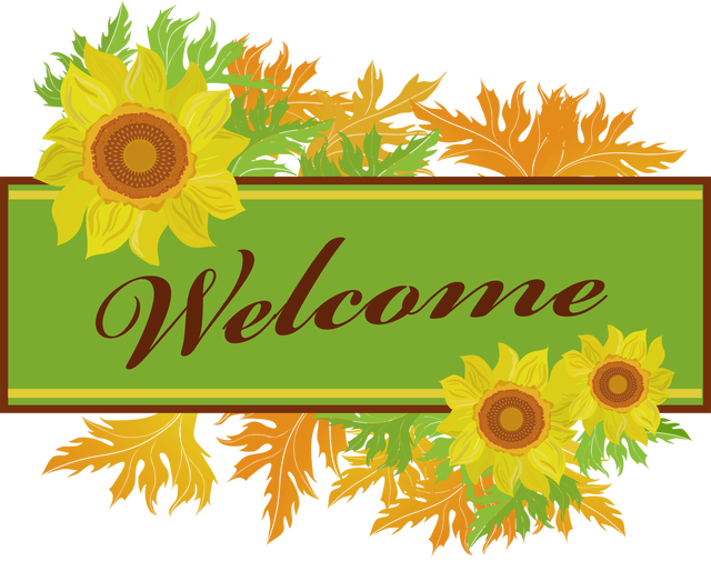 Make Your Own Welcome Sign | Clip art